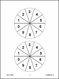Added on 4/14/06: Data Analysis & Probability Math Templates