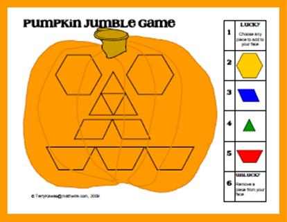 Mathwire Pumpkin Math